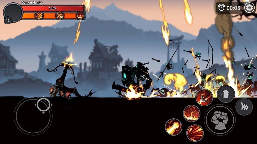 Stickman Master: League Of Shadow - Ninja Legends (MOD, Mua sắm miễn phí) ***