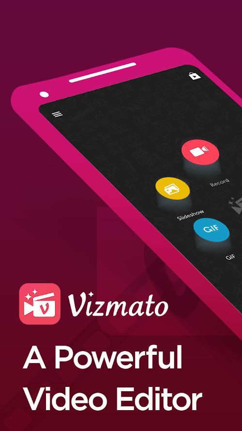 Vizmato - Trình chỉnh sửa Video & Trình tạo trình chiếu!