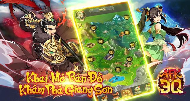 code AFK 3Q – Đế Vương Thiên Hạ
