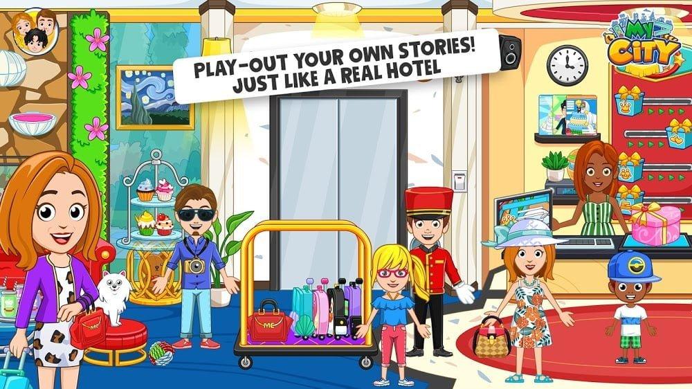 Thành phố của tôi: Khách sạn