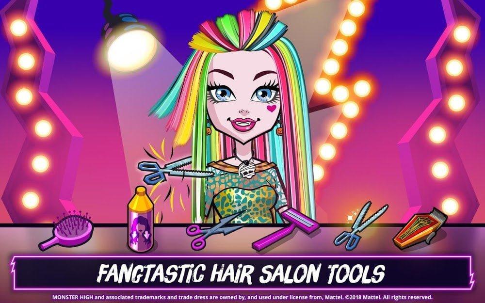 Monster High Beauty Shop (MOD, Đã mở khóa)