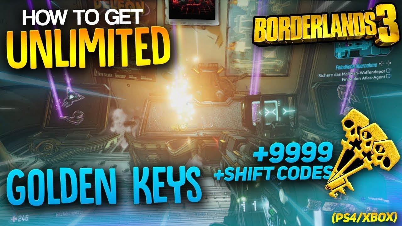 Cách nhận chìa khóa vàng không giới hạn trong Borderland 3