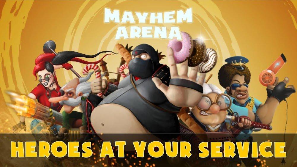 Mayhem Arena (MOD, Đã mở khóa)