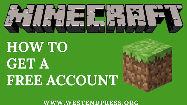 get-minecraft-account-miễn phí