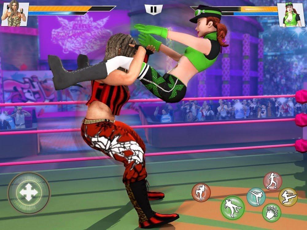 Bad Girls Wrestling Rumble (MOD, Tiền không giới hạn / Đã mở khóa) ***
