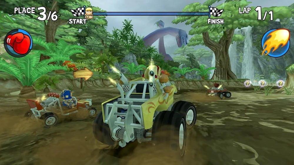 Đua xe Buggy bãi biển