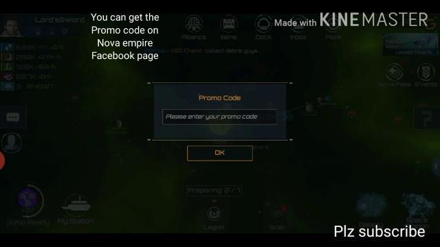 GiftCode Nova Empire
