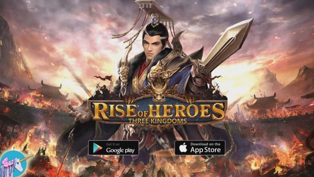 giftcode Rise Of Heroes Three Kingdoms
