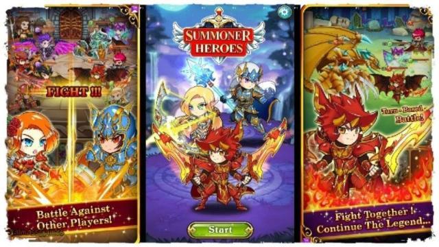 giftcode Summoner Heroes