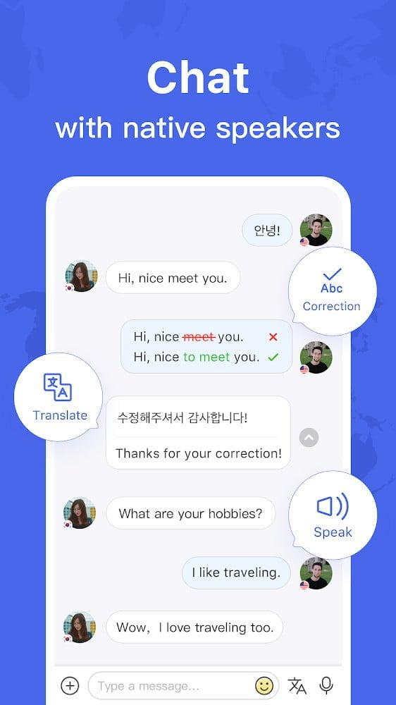 HelloTalk - Trò chuyện, Nói và Học ngôn ngữ miễn phí