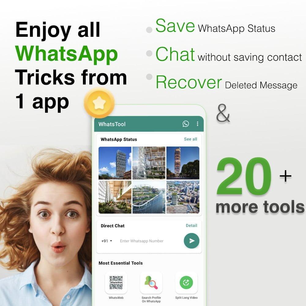 WhatsTool: Bộ công cụ cho WhatsApp