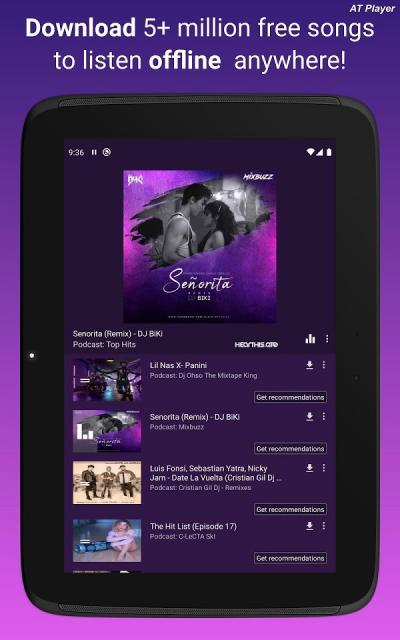 AT Player (MOD mở khóa Premium)