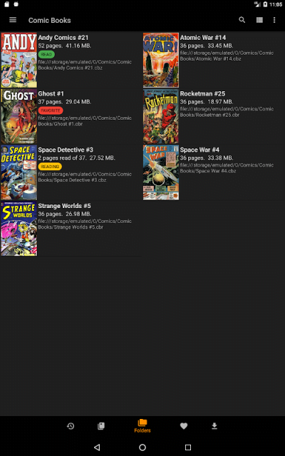 CDisplayEx Comic Reader (MOD, Full Paid)