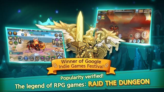 Hack Raid the Dungeon 1.12.1  (MOD Tiền, Menu/High Damage)
