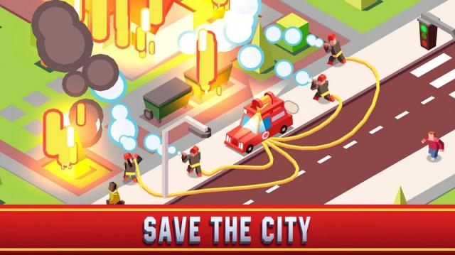 Idle Firefighter Empire Tycoon (MOD, Unlimited Money)