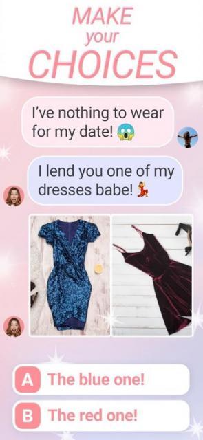 Love Star – SMS Choices Story (MOD, Stars)