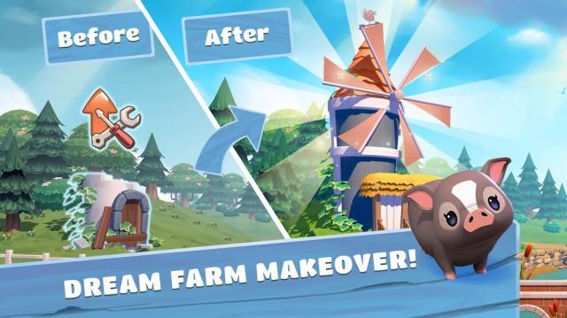 Big Farm: Home & Garden (MOD, Unlimited Boosters)