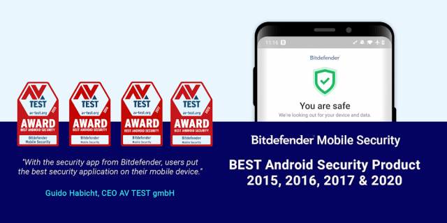Bitdefender Mobile Security & Antivirus (MOD, Free Subscription)