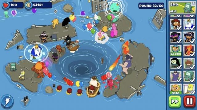 Bloons Adventure Time TD (MOD, Unlimited Money)