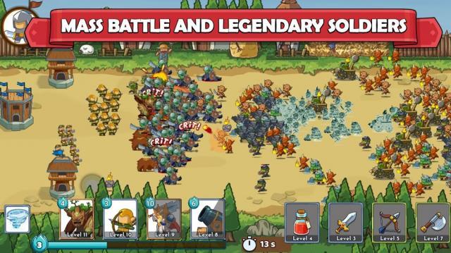 Clash of Legions (MOD, Unlimited Money/Mana)