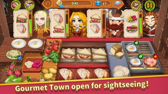 Cooking Town (MOD, Unlimited Money)