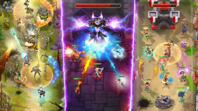 Darkfire Heroes (MOD, Unlimited Mana/Damage)