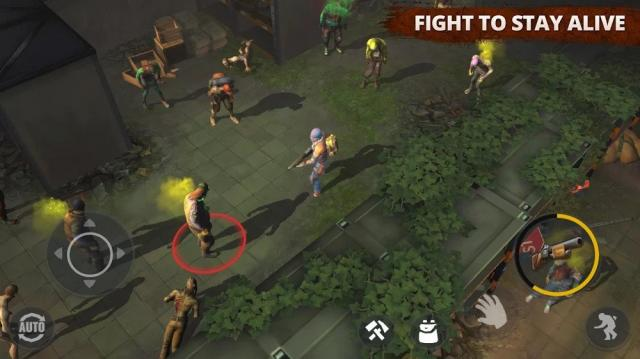 Days After: Zombie Survival Game (MOD, Menu/Free Craft)
