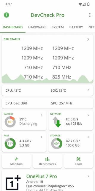 DevCheck Hardware and System Info (MOD, Pro Unlocked)