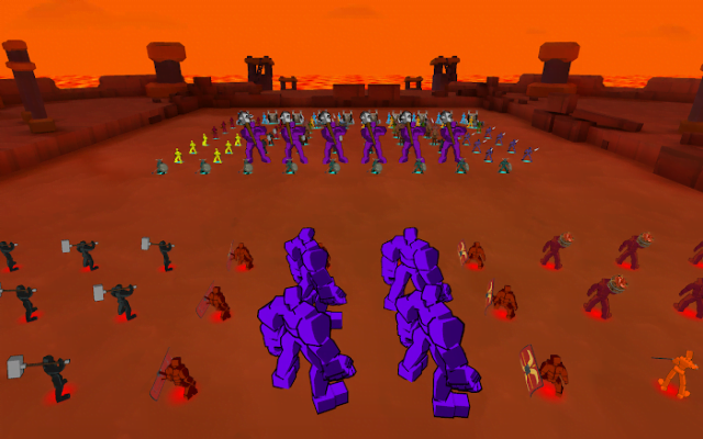 Epic Battle Simulator (MOD, Diamonds/Troops)