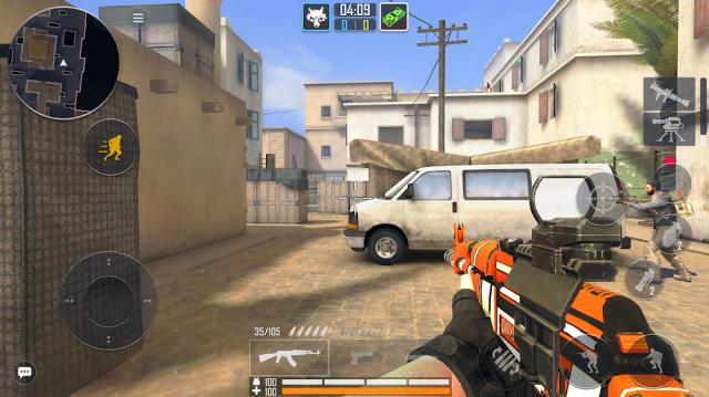 Fire Strike Online (MOD, Mega Menu)