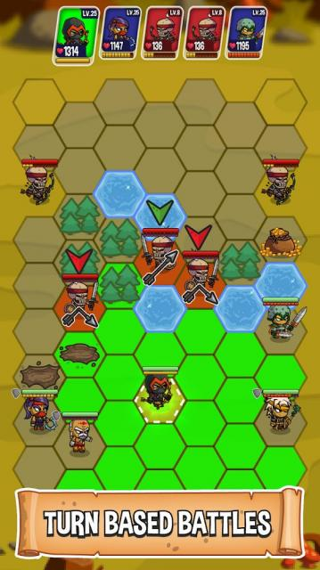 Five Heroes: The King's War (MOD, Unlimited Money)