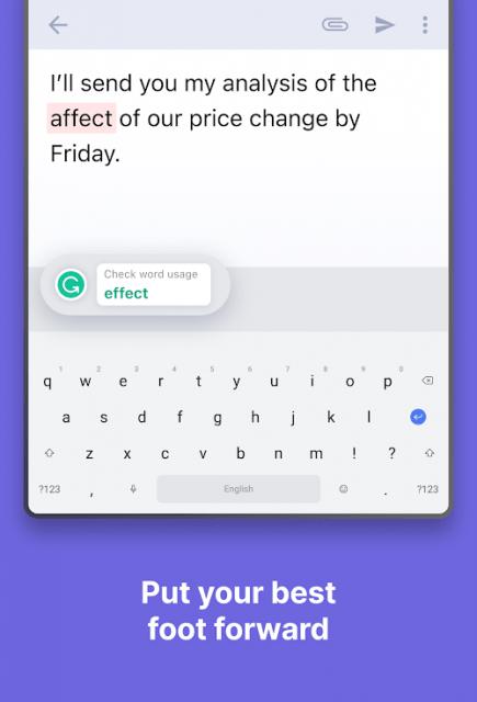 Grammarly Keyboard (MOD, Premium)