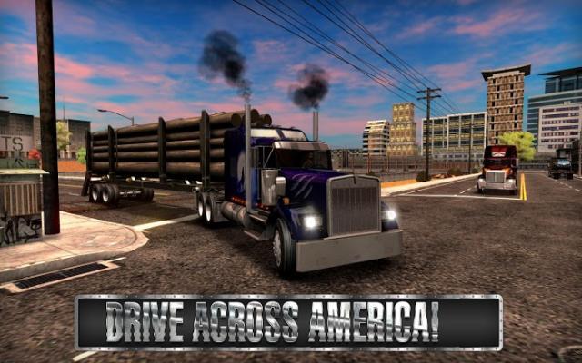 Hack Truck Simulator USA (MOD OBB + Tiền vô hạn) 4.0.4