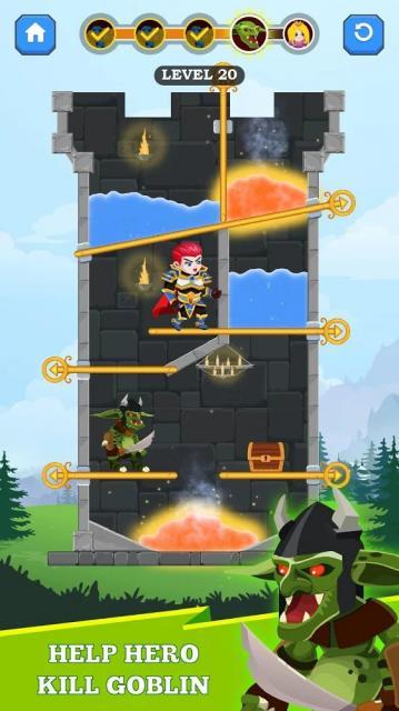 Hero Rescue (MOD, Unlimited Hearts)