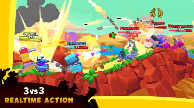 Hills of Steel 2 (MOD, Ammo/God Mode)