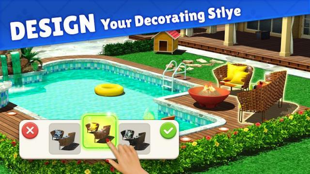 Home Design: Caribbean Life (MOD, Unlimited Money/ Lives)