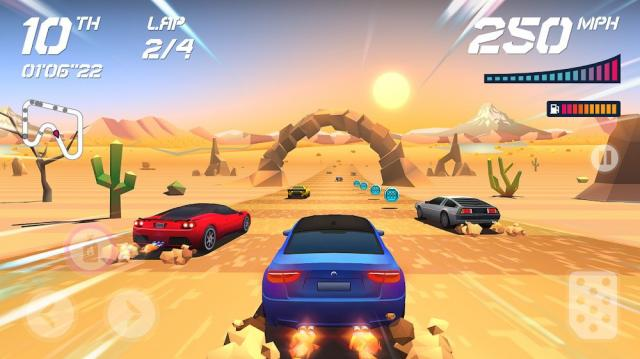 Horizon Chase (MOD, Free Shopping/Car Skins Unlocked)