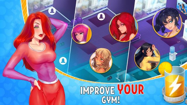 HOT GYM idle (MOD, Unlimited Coin/Droping)