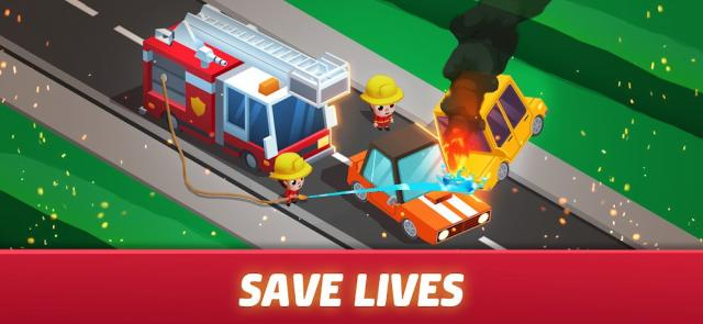 Idle Firefighter Tycoon (MOD, Unlimited Money)