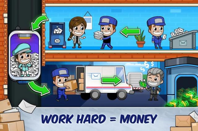 Idle Mail Tycoon (MOD, Unlimited Money)