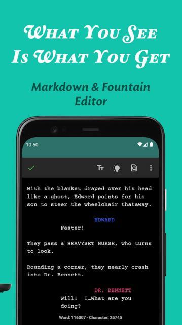 JotterPad – Writer, Screenplay, Novel (MOD, PRO Unlocked)