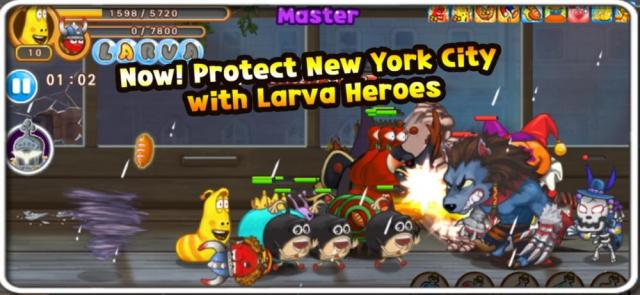 Larva Heroes: Lavengers (MOD, Unlimited Coins/Candies)
