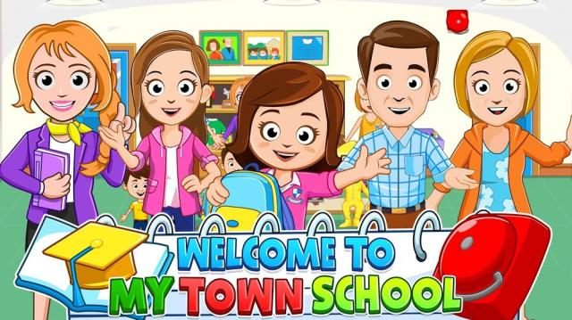 My Town: School (MOD, All Paid Content Unlocked)