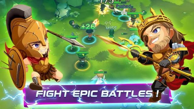 Mythical Showdown (MOD, High Damage/Defense)