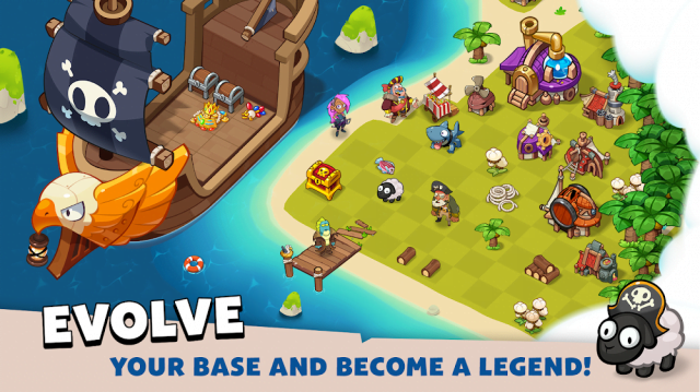 Pirate Evolution! (MOD, Unlimited Gold/Diamonds)