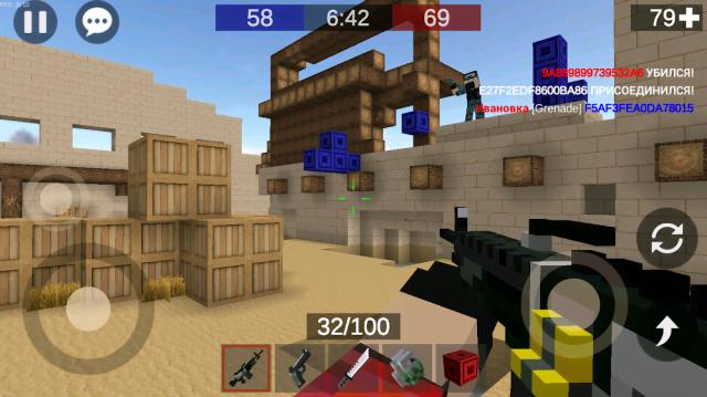 Pixel Combats 2 (MOD, Bullets/Weapons)
