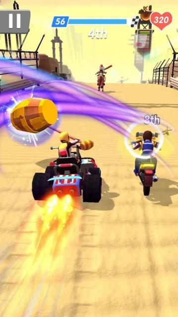 Racing Smash 3D (MOD, Unlimited Money)