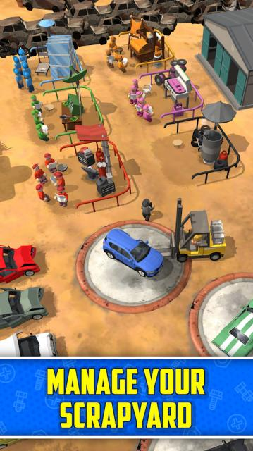 Scrapyard Tycoon Idle Game