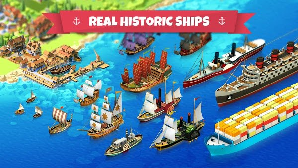 Seaport – Explore, Collect & Trade