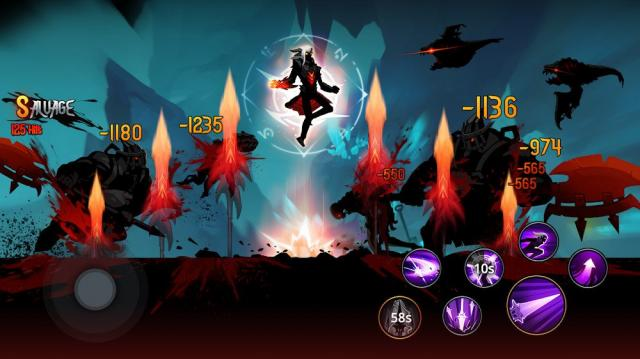 Shadow Knight: Ninja Warriors (MOD, Immortality)